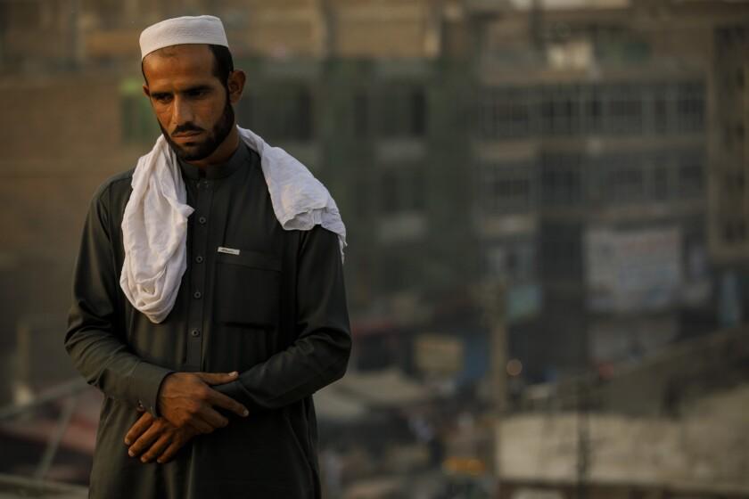 JALALABAD, NANGARHAR PROVINCE -- FRIDAY, NOVEMBER 3, 2017: Zafar Khan, 23, who lost six family membe