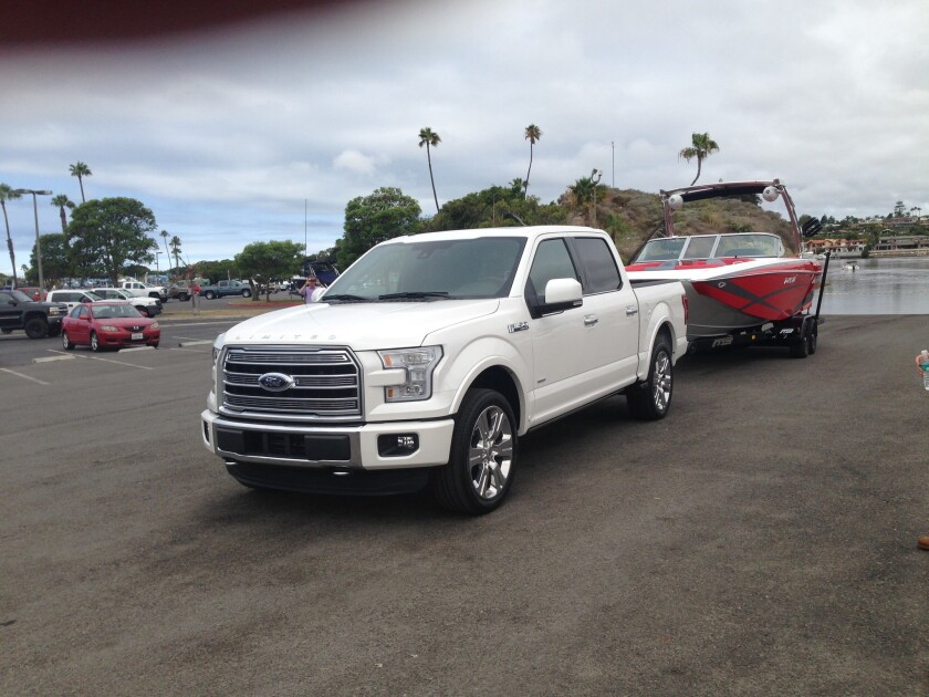 Ford will bring out the $60,000 F-150 Limited later this year. The automaker thinks there is a market for luxury trucks.