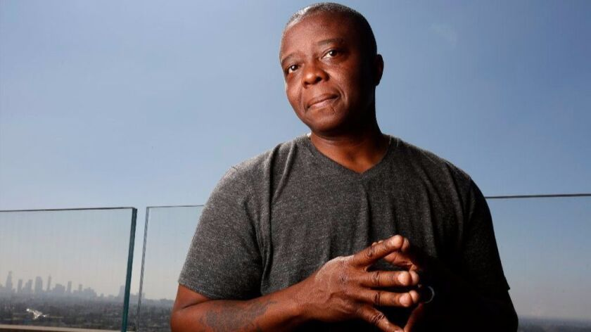 """LOS ANGELES, CA September 12, 2017: Portraits of Yance Ford, director of doc """"Strong Island,"""" of N"""