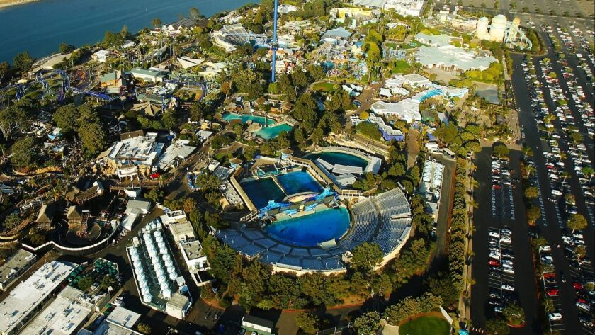 SeaWorld Entertainment has scrapped plans for a themed hotel linked to its San Diego marine park.