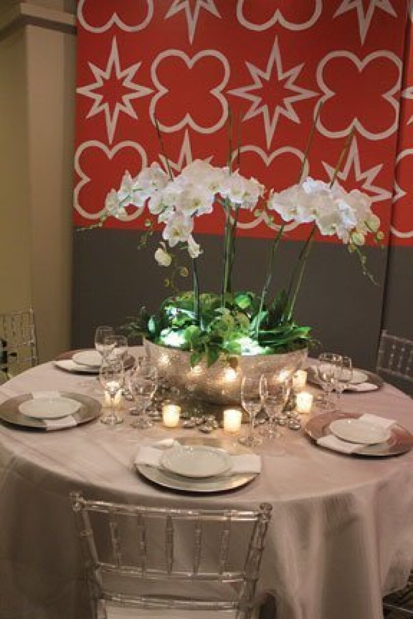 The April 24 brunch also offered a preview of the table designs and decor for the 2013 Jewel Ball.