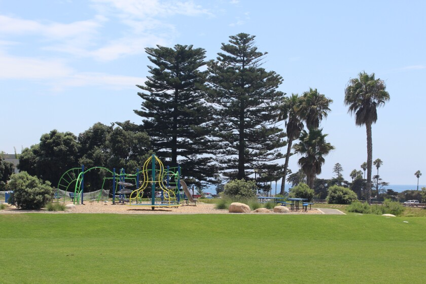 The Berkich Playfields at Cardiff School.