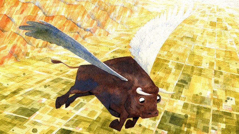 Flying Bull Art