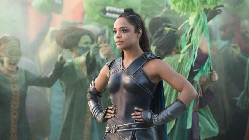 """Tessa Thompson's Valkyrie quickly became a fan favorite in the MCU after her debut in """"Thor: Ragnarok."""""""