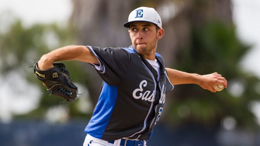 Eastlake's Brian Leonhardt, who's committed to SDSU, was 12-0 with a 1.25 ERA.