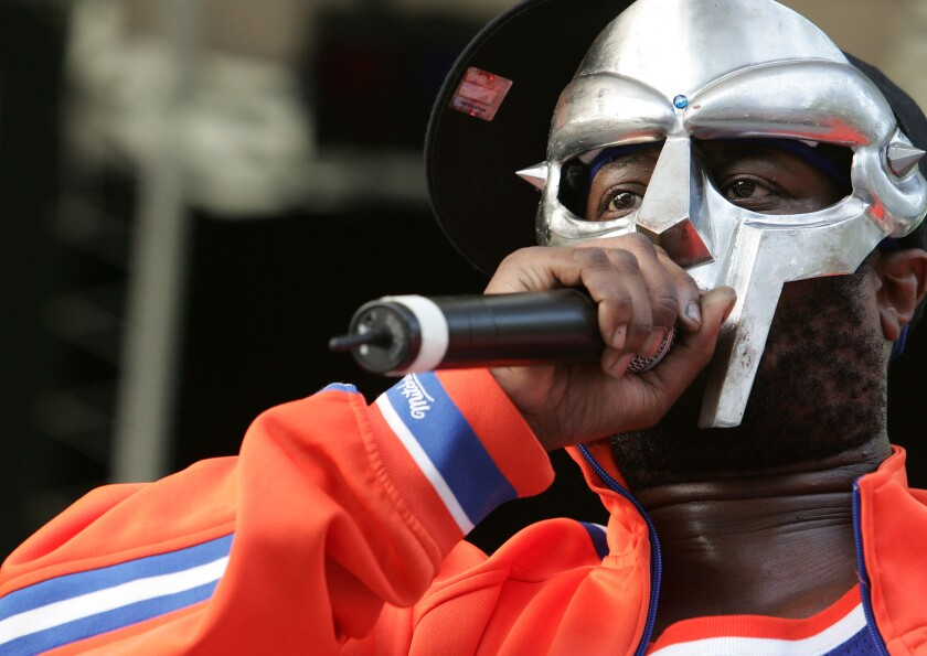 MF Doom, masked and masterful rap artist, dies at 49