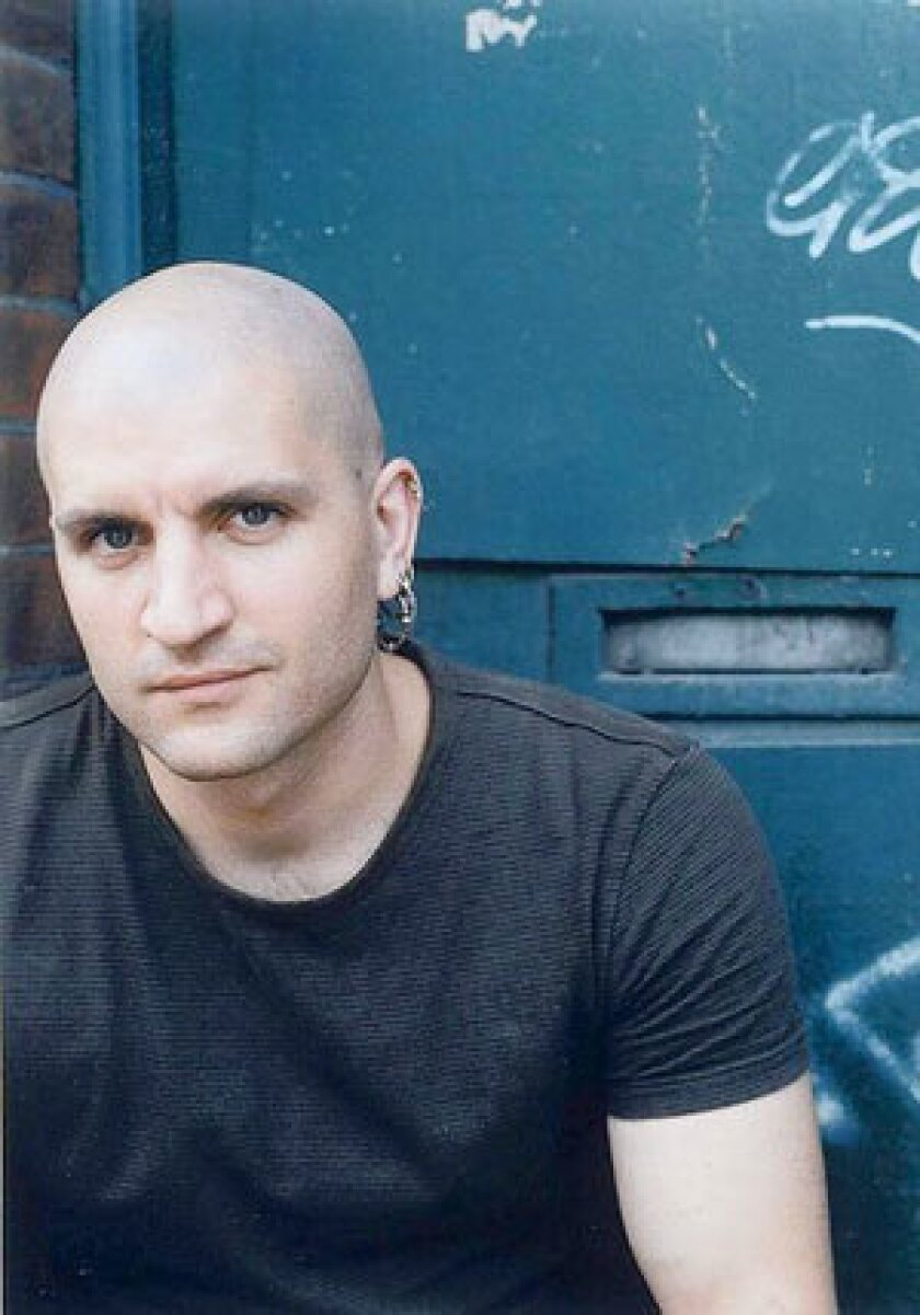 "China Mieville, author of the book ""Embassytown."""