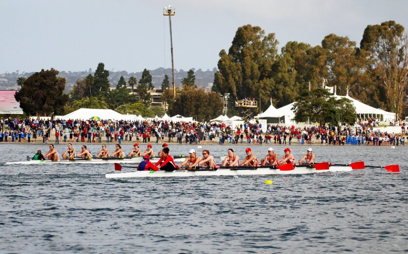 San Diego Crew Classic This spring rowing regatta — Saturday and Sunday, April 4-5 along Crown Point Shores, Mission Bay — introduces generation after generation to the sport. It includes a fierce rowing competition between teams of highest caliber and there's a beer garden! VIP access available to Champion's Pavilion, which includes exclusive events, such as Classic Brunch by the Bay. Prices: $12-$450. crewclassic.org