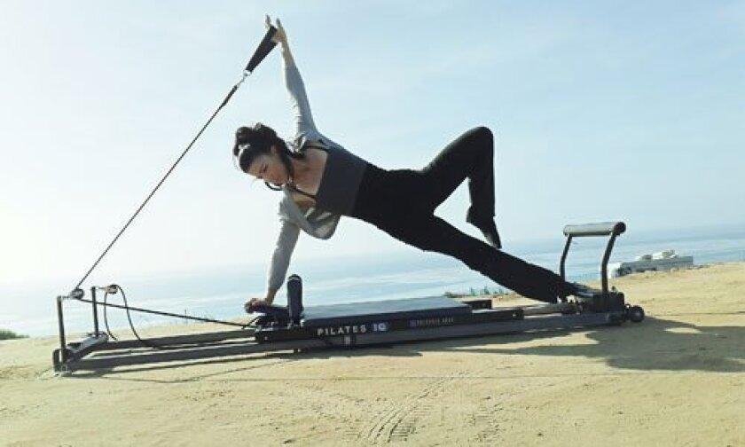 Renee Casanova provides private Pilates training with Pilates 2 U. Courtesy photo