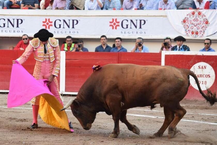 Juan Pablo Sánchez, torero mexicano. EFE/Archivo