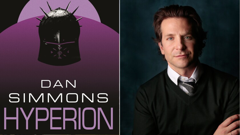 Bradley Cooper is looking to make Dan Simmons' Hyperion Cantos books, which have won Hugo, Locus and British Science Fiction Association awards, into a TV series with the Syfy network.
