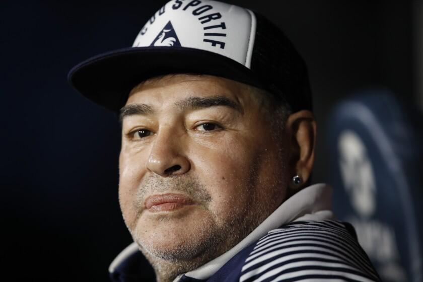 Diego Maradona had surgery to remove a subdural hematoma.