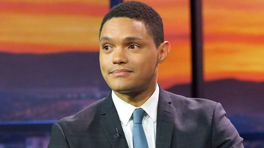 Comedy Central's late-night host Trevor Noah has been a hit with fans.