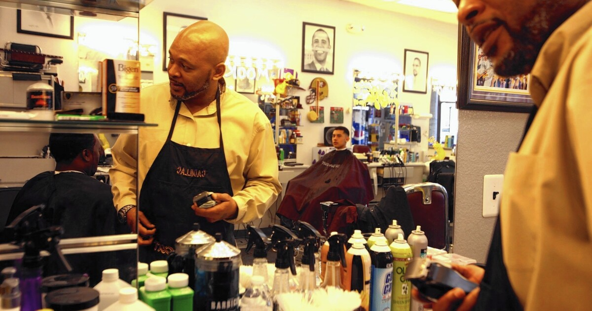 Nevada barber lives by lessons from former clients on Georgia's