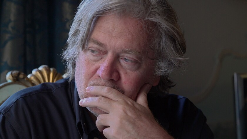 "Steve Bannon in ""THE BRINK,"" a Magnolia Pictures release. Credit: Magnolia Pictures"