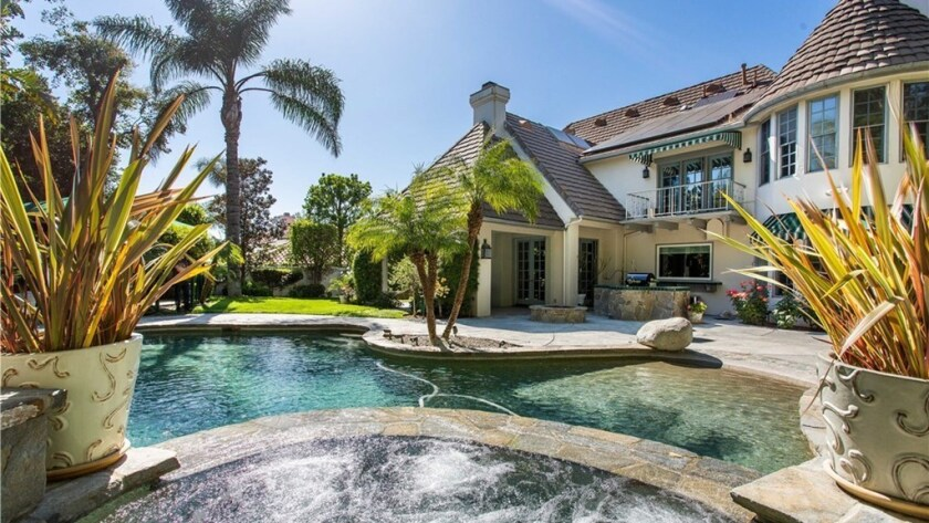 Wink Martindale's Calabasas home