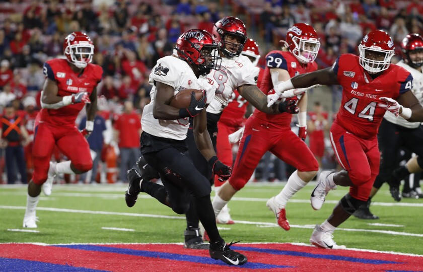 UNLV running back Charles Williams returns for his senior season after leading the Rebels in rushing a year ago.