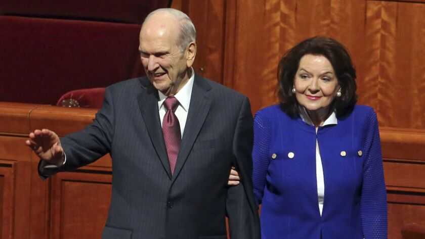 Russell M. Nelson and Wendy