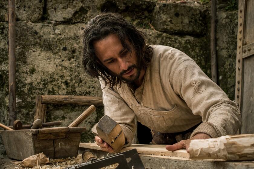 """Rodrigo Santoro interpreta a Jesús en una escena de """"Ben-Hur"""", que se estrena este viernes."""