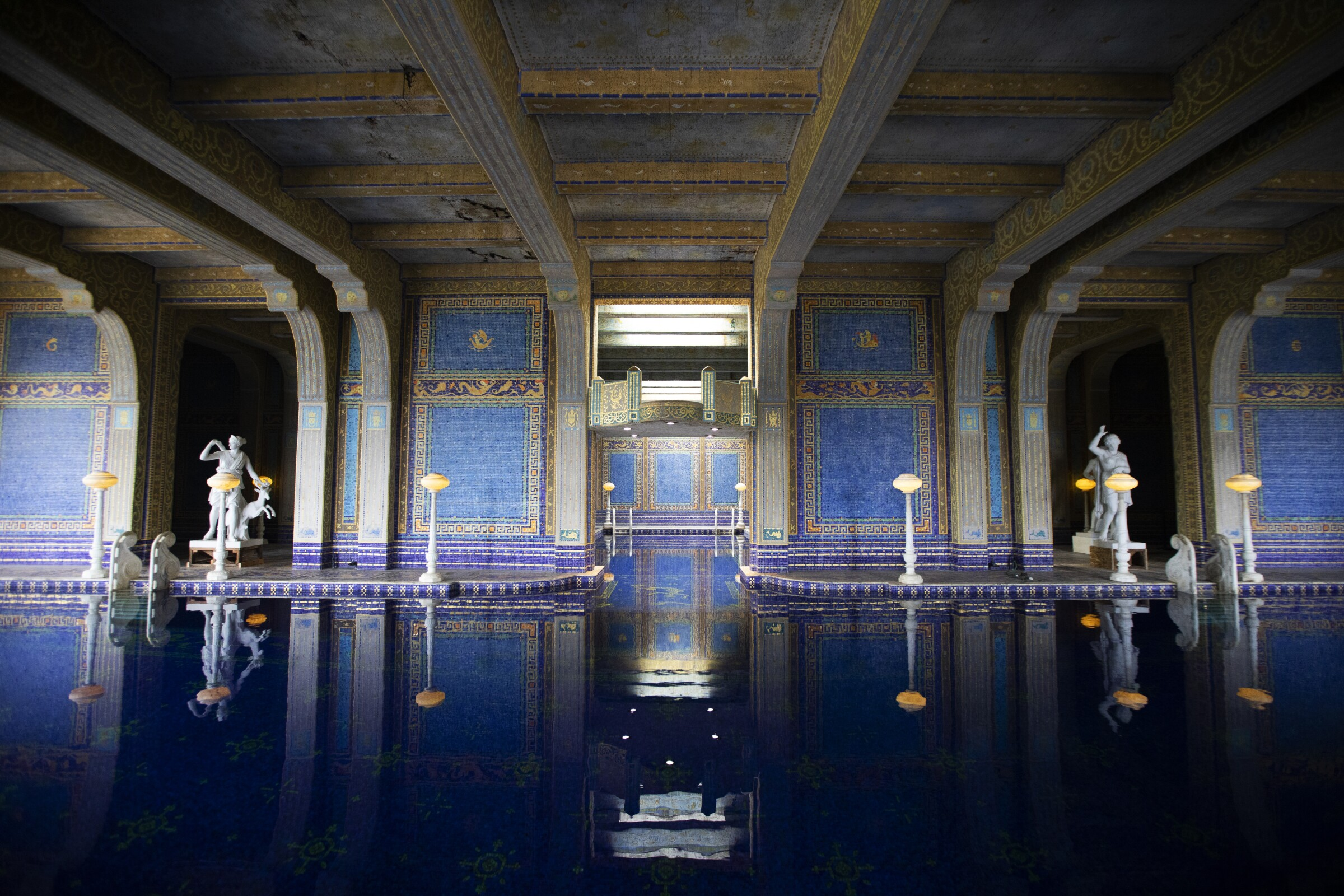 How Covid 19 Has Impacted California S Hearst Castle Los Angeles Times