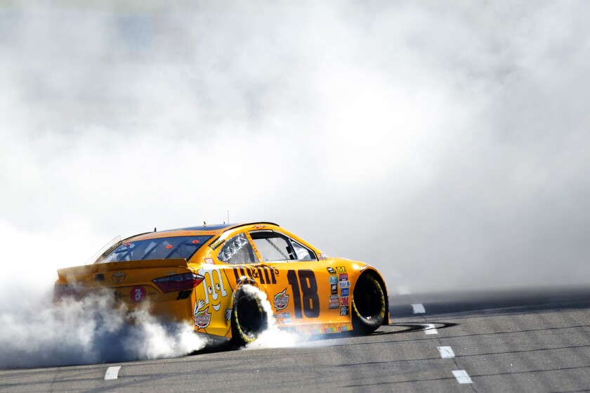Kyle Busch sweeps the weekend races at Martinsville