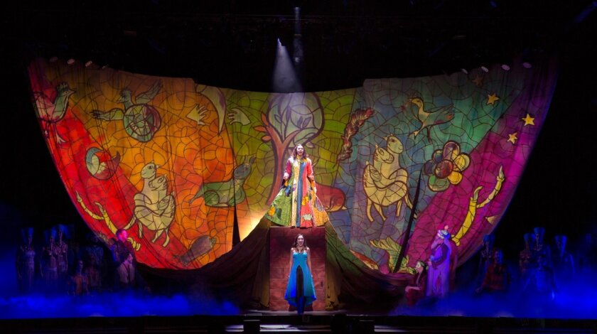 """Ace Young and Diana DeGarmo in """"Joseph and the Amazing Technicolor Dreamcoat."""""""