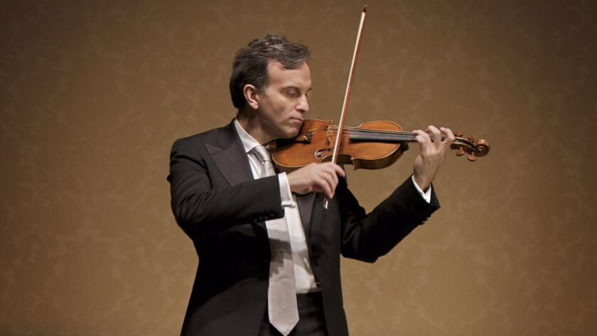 Violinist Gil Shaham's collaboration with the San Diego Symphony in Mendelssohn's Violin Concerto was pure magic.