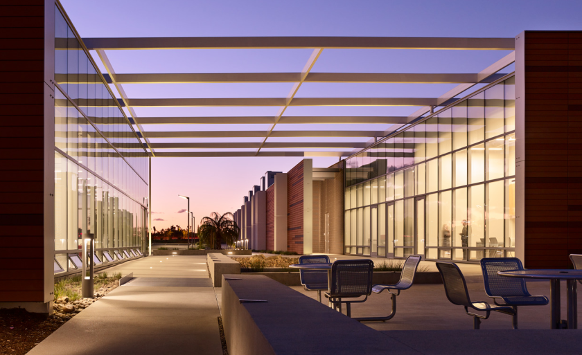 Orchids and Onions 2019: Palomar College Maintenance Operations Complex, Malone Grand Orchid for Architecture