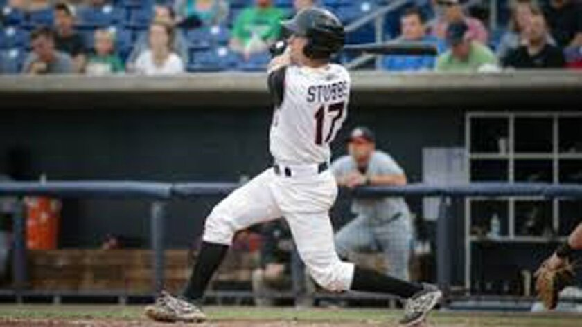 Garrett Stubbs hit .304 with 10 homers, 22 doubles, 15 steals and 54 RBIs for the Astros at High-A Lancaster and Double-A Corpus Christi.