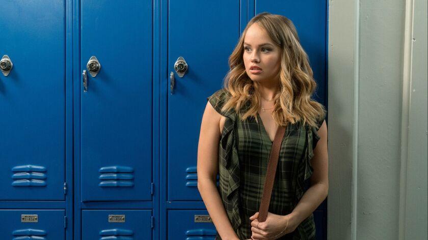"Debby Ryan in a scene from Netflix' ""Insatiable."""