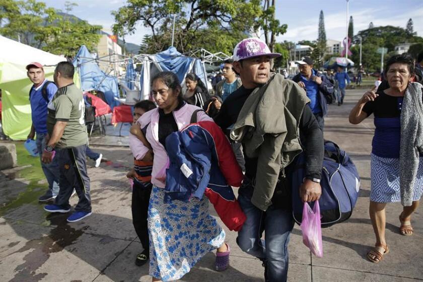Migrantes salvadoreños inician su recorrido hacia EE.UU. EFE/Archivo
