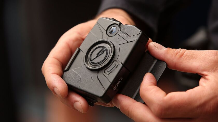 When and how the Los Angeles Police Department should publicly release video footage generated discussion both inside and outside the department after officials began deploying thousands of body cameras to rank-and-file officers.
