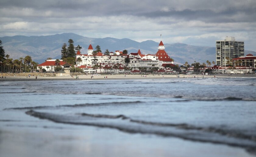 """It's a well-known fact that Coronado Beach is one of the most picturesque stretches of sand in the county. According to Stephen P. Leatherman, aka """"Dr. Beach,"""" it's the seventh-best in the U.S. this year. It's """"a veritable oasis by the sea,"""" he says. Who are we to argue? (MICHAEL JAMES ROCHA)"""
