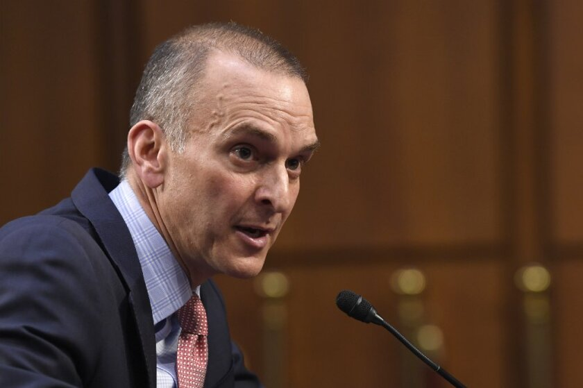 U.S. Anti-Doping Agency Chief Executive Officer Travis Tygart testifies during a Senate Commerce, Science, and Transportation Committee hearing on Capitol Hill in Washington, on Wednesday.