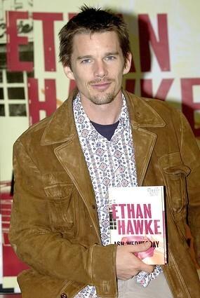 Ethan Hawke book signing