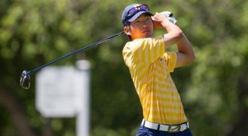 Michael Kim (Photo courtesy USGA/Steve Gibbons)