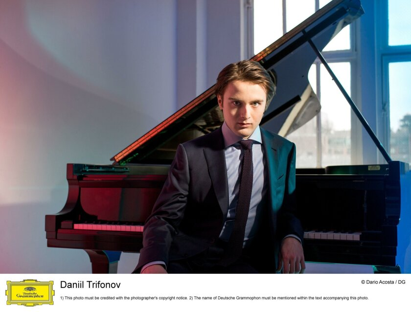 Daniil Trifonov will be the featured soloist at Jacobs Music Center's Copley Symphony Hall on March 23.