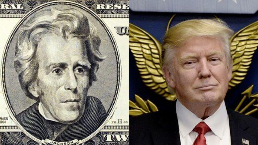 Hay un presidente estadounidense calificado a menudo de populista, que llegó al poder enfrentado a parte de la clase dirigente, diciendo representar a la gente común y prometiendo acabar con la corrupción. ¿Donald Trump? No, Andrew Jackson.