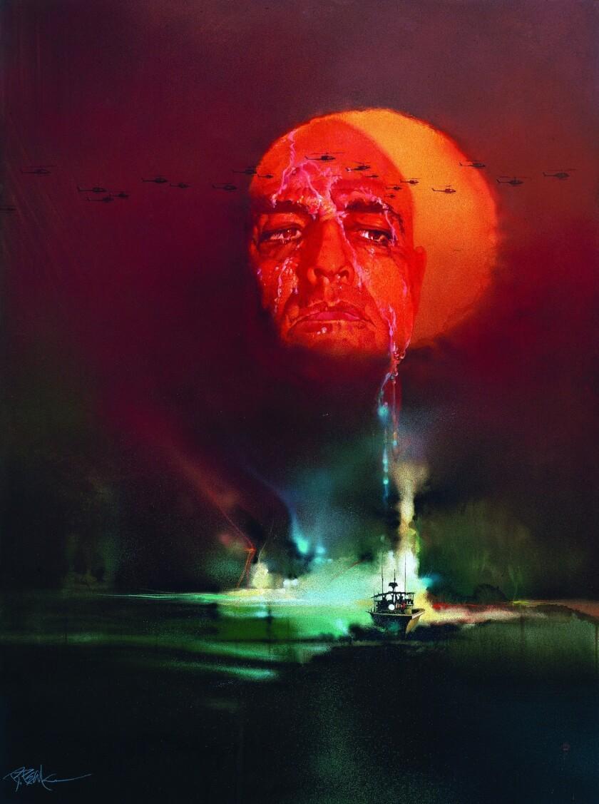 """Bob Peak's poster for """"Apocalypse Now, 1979."""