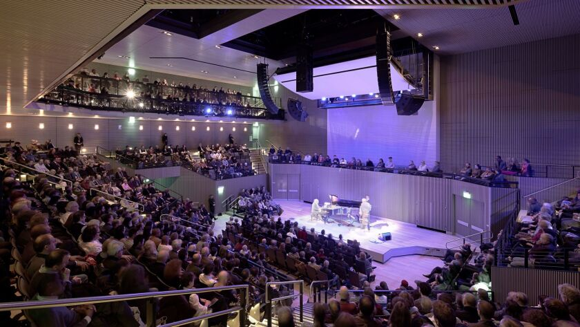 """SFJAZZ has """"definitely created a template for others to follow,"""" says San Diego-bred bass guitar star Nathan East."""