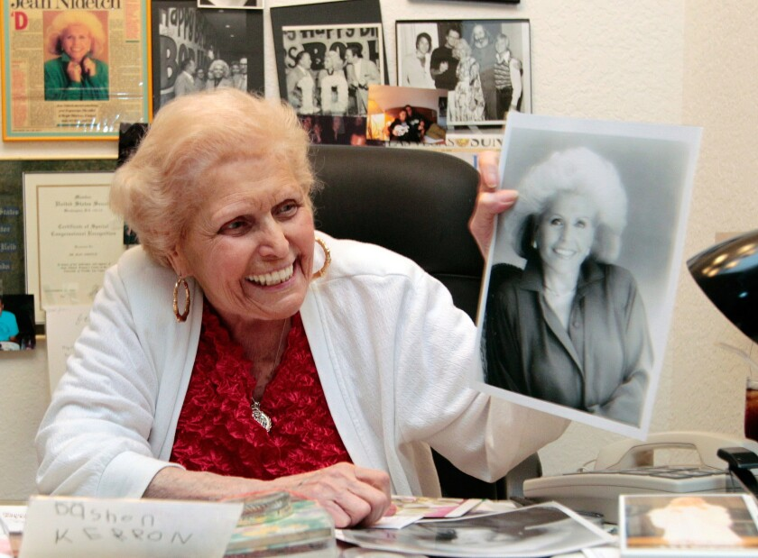 Jean Nidetch founded Weight Watchers International in 1963 after having lost a large amount of weight herself.