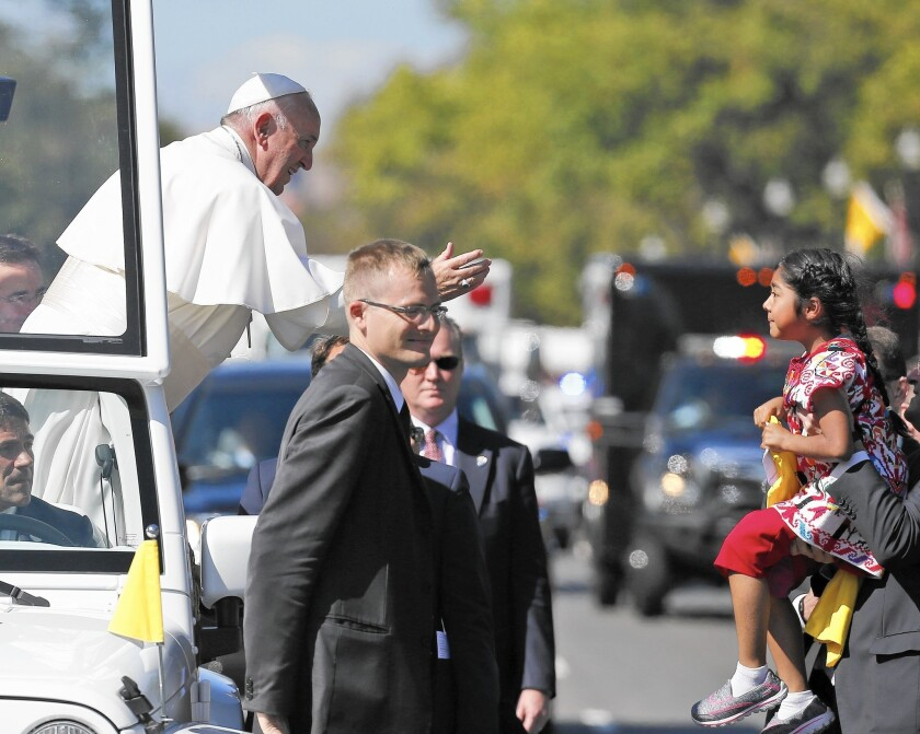 Pope Francis in Washington