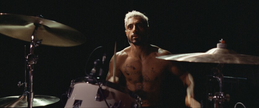 "Riz Ahmed in the movie ""Sound of Metal."""