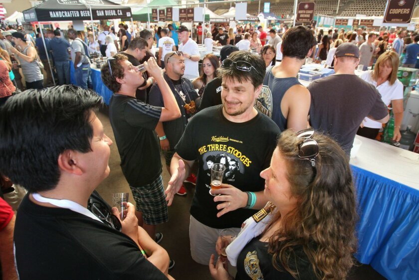 This year, like last, San Diego International Beer Festival expects a big crowd