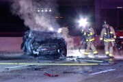 North I-15 lanes closed at Miramar Road after 2 killed in suspected DUI crash