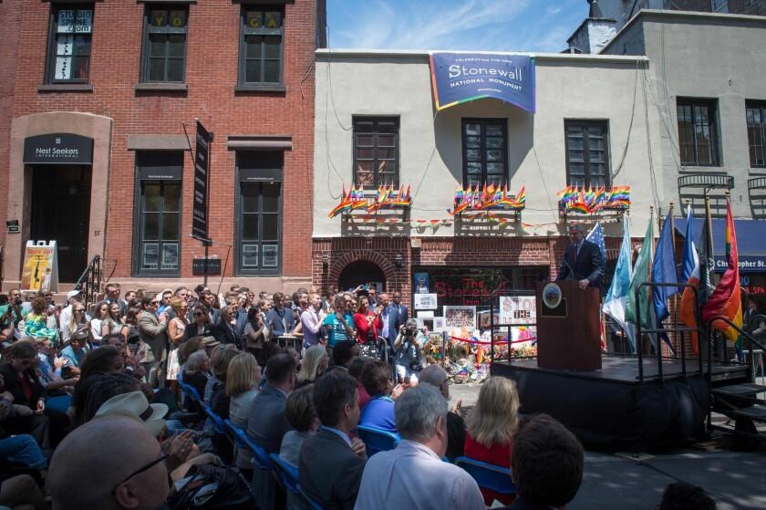 Stonewall National Monument dedication