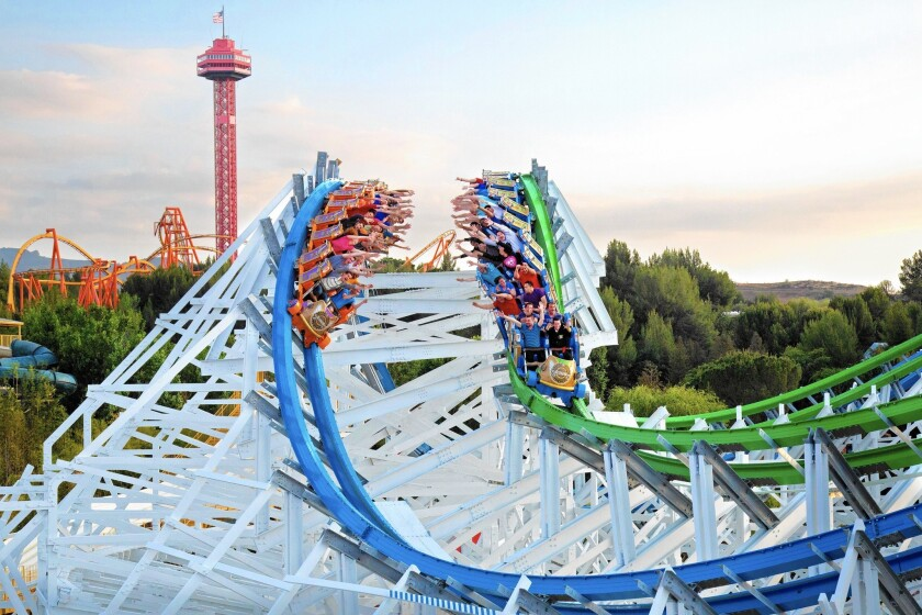 Twisted Colossus at Magic Mountain