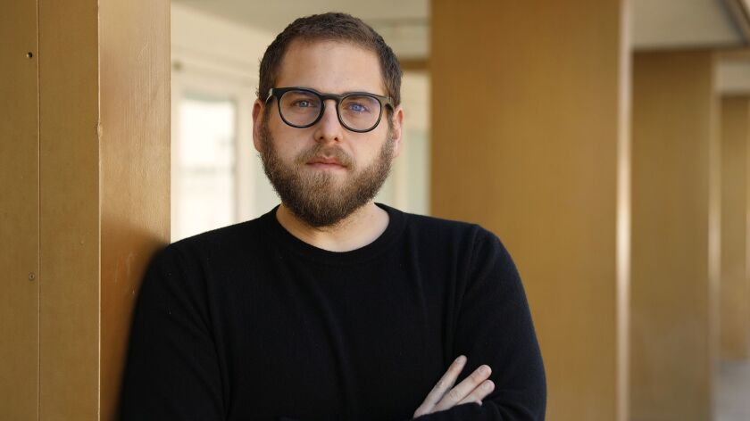 LOS ANGELES, CA - OCTOBER 16, 2018 -Jonah Hill photographed at the West LA Courthouse on October 16,