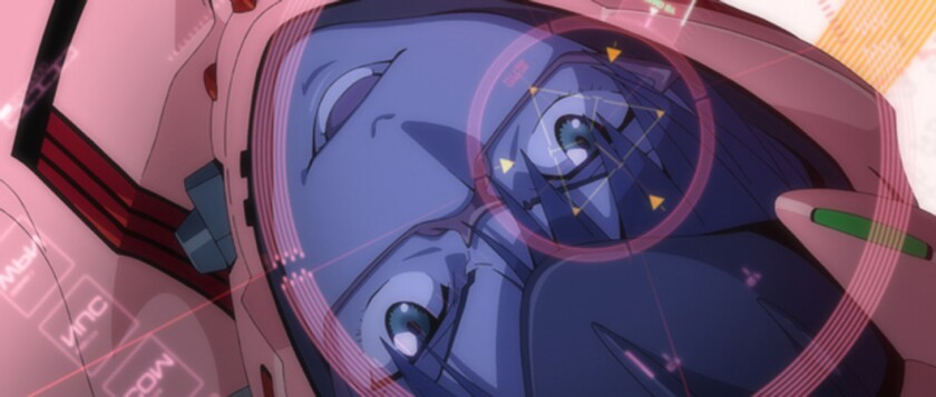 """MARI in the movie """"Evangelion: 3.0 You Can (Not) Redo."""""""
