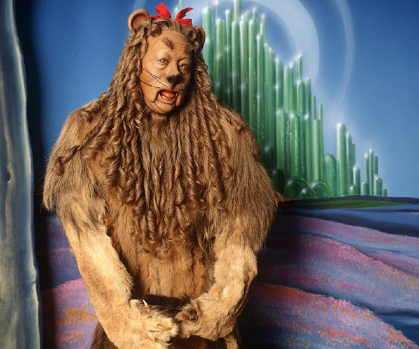 'Wizard of Oz' Cowardly Lion costume could be yours (for a price)